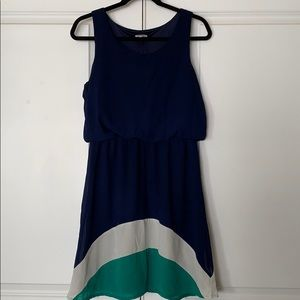 Pixley Sheer Lined Dress